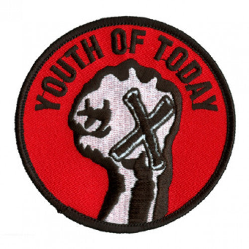 "REVPAT07 Youth Of Today ""Fist"" - Embroidered Patch"