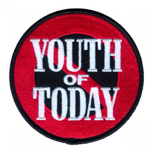 "REVPAT08 Youth Of Today ""No More"" - Embroidered Patch"