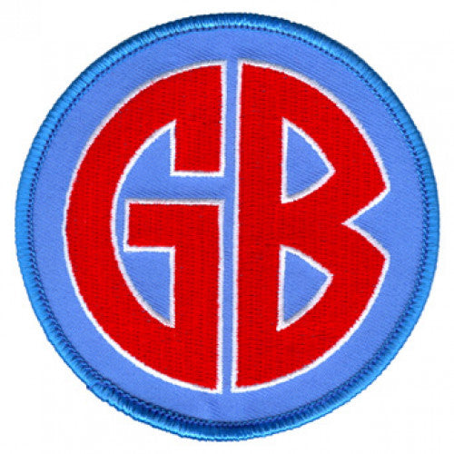 "REVPAT12 Gorilla Biscuits ""Logo"" -  Embroidered Patch"