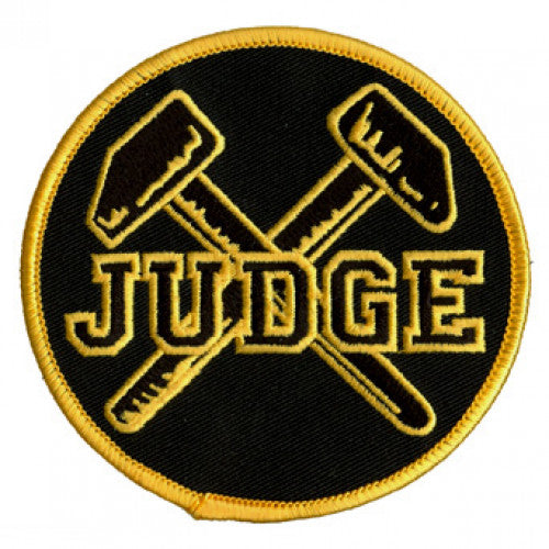 "REVPAT15 Judge ""Logo"" -  Embroidered Patch"