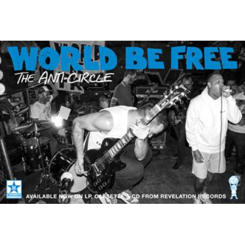"REVPOST162 World Be Free ""The Anti-Circle (Large)"" - Poster"