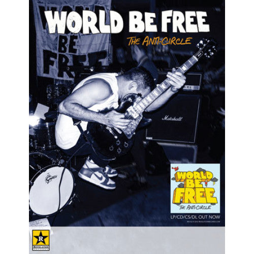 "REVPOST162A World Be Free ""The Anti-Circle (Small)"" - Poster"