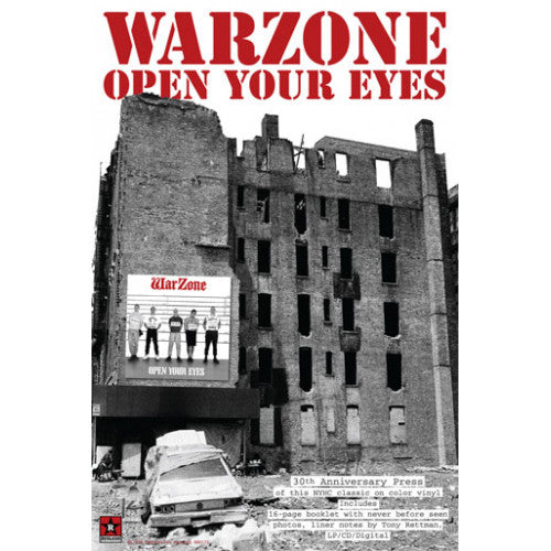 "REVPOST173 Warzone ""Open Your Eyes"" - Poster"