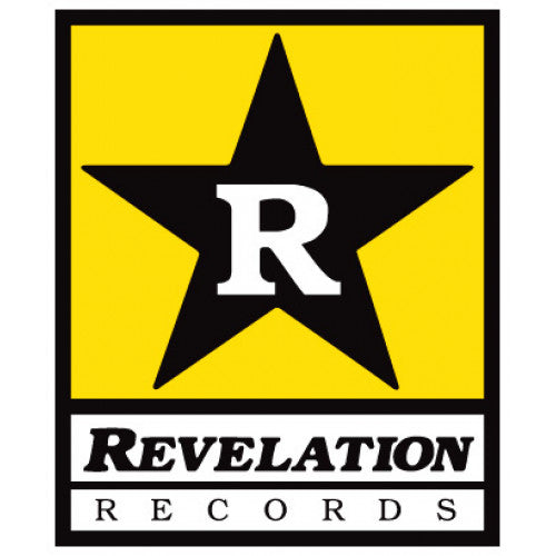 "REVST01 Revelation Records ""Logo (Small)"" -  Sticker"