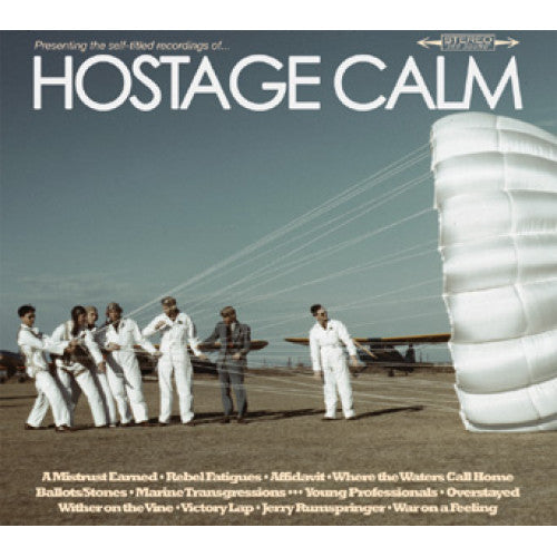 "RFC021-1 Hostage Calm ""s/t"" LP Album Artwork"