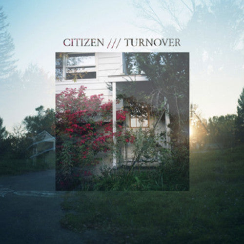 "RFC054-1 Citizen / Turnover ""Split"" 7"" Album Artwork"