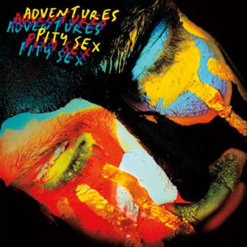 "RFC084-1 Adventures / Pity Sex ""Split"" 7"" Album Artwork"