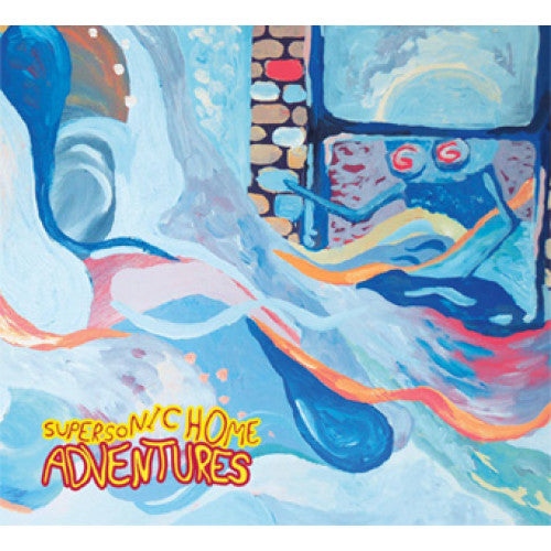 "RFC111-1 Adventures ""Supersonic Home"" LP Album Artwork"