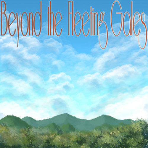 "RFC153-4 Crying ""Beyond The Fleeting Gales"" Cassette Album Artwork"