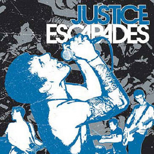 "RFL086-2 Justice ""Escapades"" CD Album Artwork"