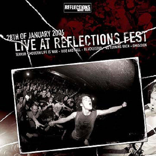 "RFL088-1 V/A ""28th Of January 2006: Live At Reflections Fest"" 2XLP Album Artwork"