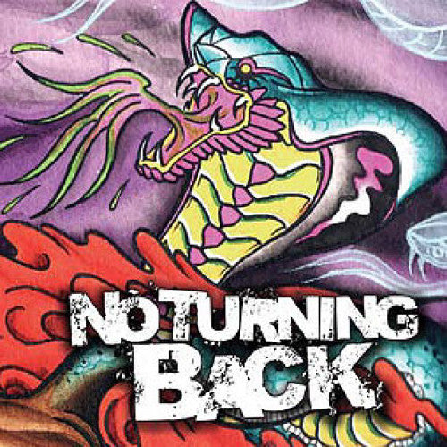 "RFL096-2 No Turning Back ""Stronger"" CD Album Artwork"