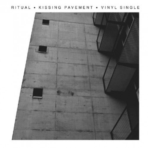 "RFL110-1 Ritual (Germany) ""Kissing Pavement"" 7"" Album Artwork"