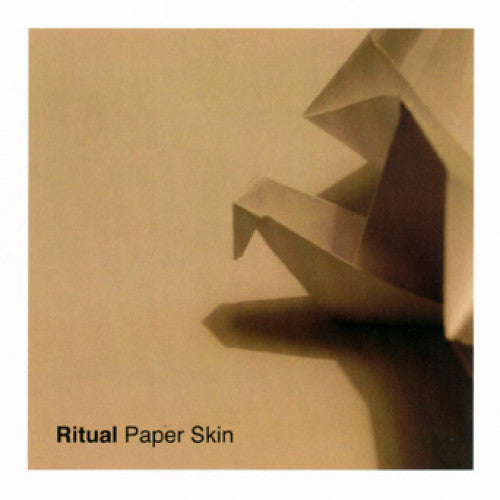 "RFL114 Ritual (Germany) ""Paper Skin"" LP/CD Album Artwork"