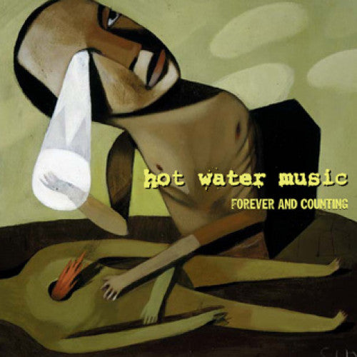 "RISE182-1 Hot Water Music ""Forever And Counting"" LP Album Artwork"
