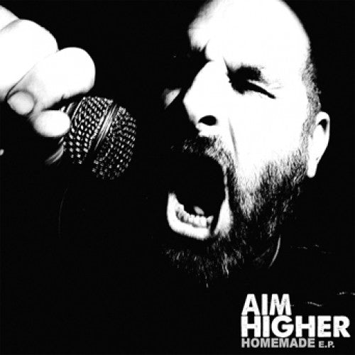 "RISE349-1 Aim Higher ""Homemade"" 7"" Album Artwork"
