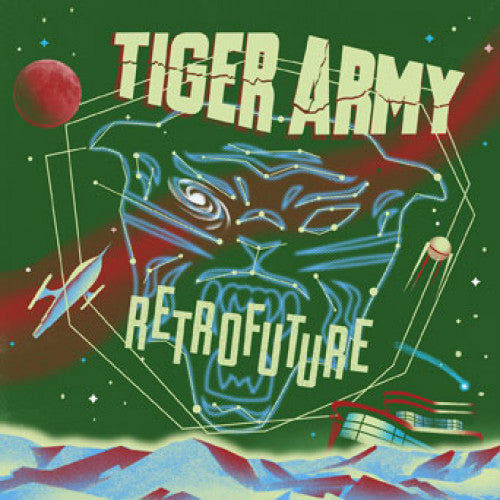 "RISE450-2 Tiger Army ""Retrofuture"" CD Album Artwork"