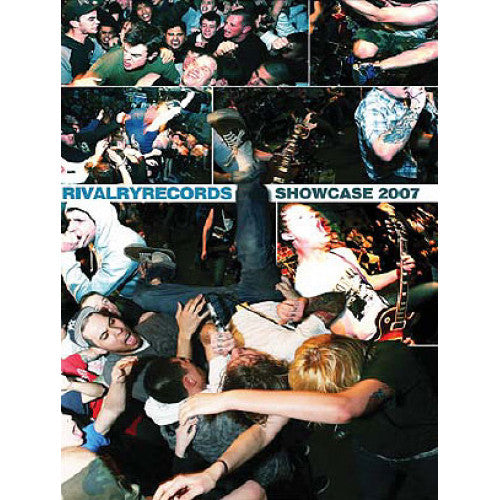 "RIVALV03-DVD V/A ""Rivalry Records Showcase 2007"" - DVD"