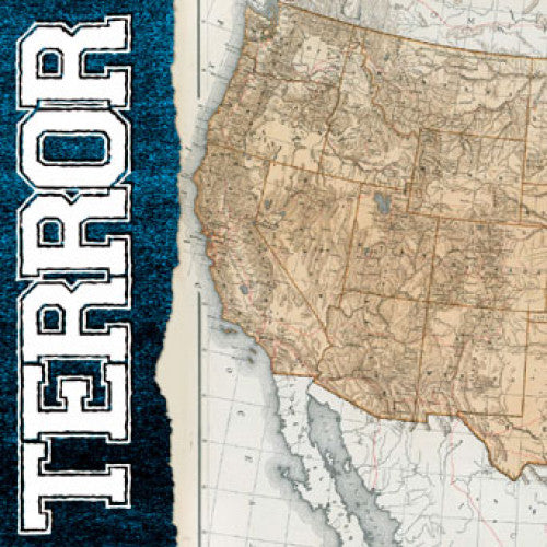 "RRLS03-1 Terror ""Live In Seattle"" 7"" Album Artwork"