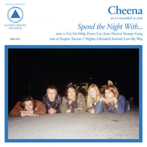 "SACBR160-1 Cheena ""Spend The Night With..."" LP Album Artwork"