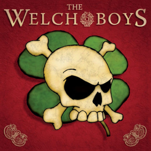 "SAIL03-2 The Welch Boys ""s/t"" CD Album Artwork"