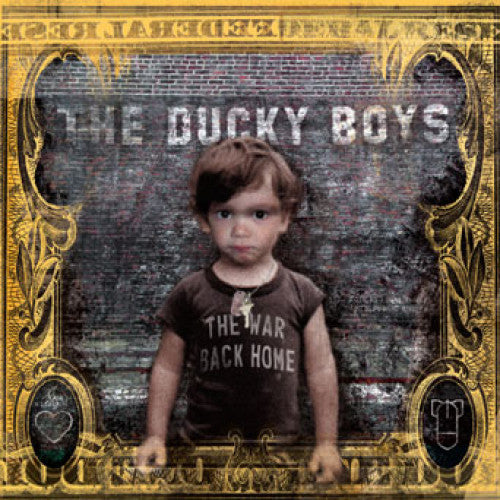 "SAIL06-2 The Ducky Boys ""The War Back Home"" CD Album Artwork"