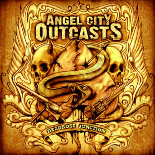 "SAIL09-2 Angel City Outcasts ""Deadrose Junction"" CD Album Artwork"
