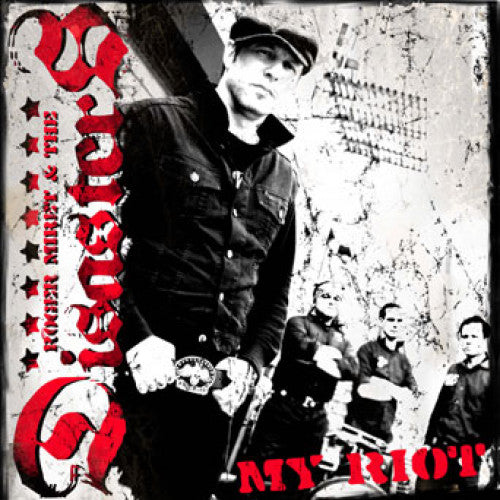"SAIL11-2 Roger Miret & The Disasters ""My Riot"" CD Album Artwork"