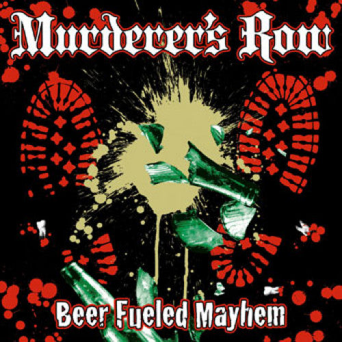 "SAIL12-2 Murderer's Row ""Beer Fueled Mayhem"" CD Album Artwork"