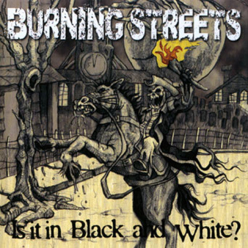 "SAIL16-2 Burning Streets ""Is It In Black And White?"" CD Album Artwork"