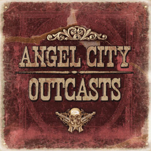 "SAIL20-2 Angel City Outcasts ""s/t"" CD Album Artwork"