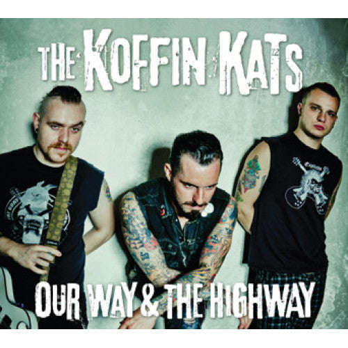 "SAIL23-2 The Koffin Kats ""Our Way & The Highway"" CD Album Artwork"
