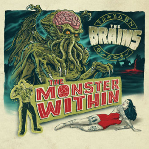 "SAIL26-2 The Brains ""The Monster Within"" CD Album Artwork"