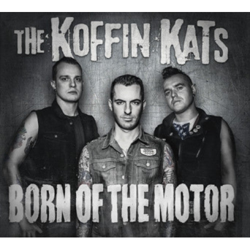 "SAIL28-2 The Koffin Kats ""Born Of The Motor"" CD Album Artwork"