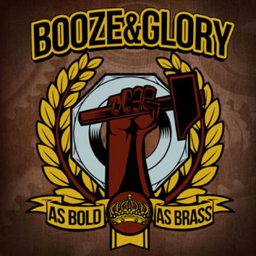 "SAIL30-1 Booze & Glory ""As Bold As Brass"" LP Album Artwork"