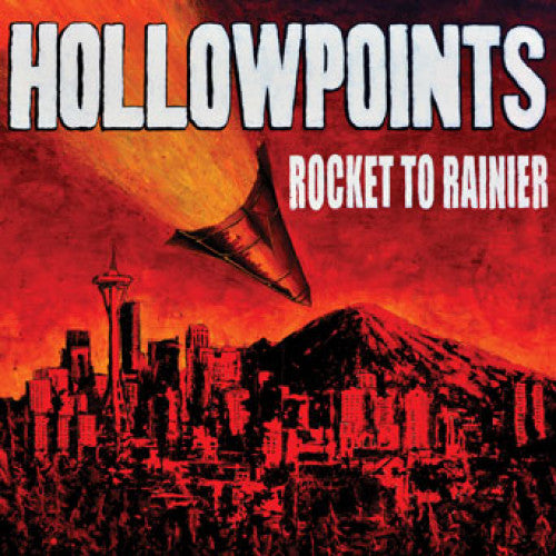 "SAIL32 Hollowpoints ""Rocket To Rainier"" LP/CD Album Artwork"