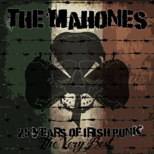 "SAIL33-2 The Mahones ""The Very Best: 25 Years Of Irish Punk"" CD Album Artwork"