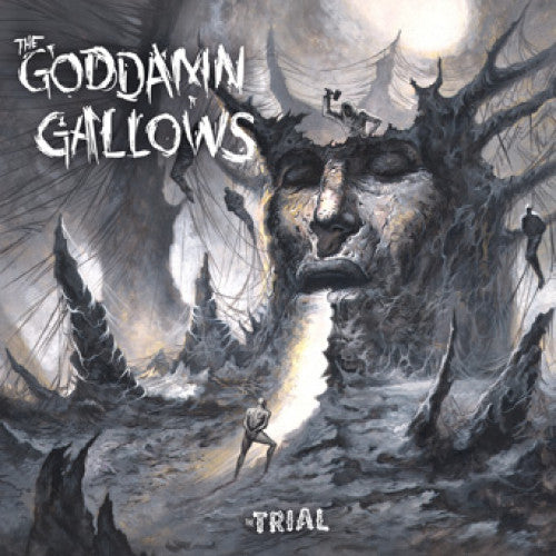 "SAIL35 The Goddamn Gallows ""The Trial"" LP/CD Album Artwork"