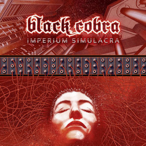 "SEMR361-1 Black Cobra ""Imperium Simulacra"" 2xLP Album Artwork"