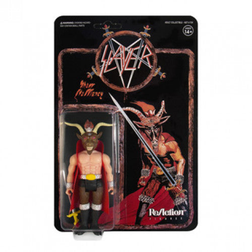 "SEV03441 Slayer ""Show No Mercy"" - Action Figure"