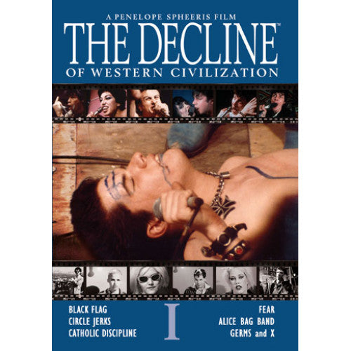 "SF1655-DVD The Decline Of Western Civilization ""A Film By Penelope Spheeris"" - DVD"