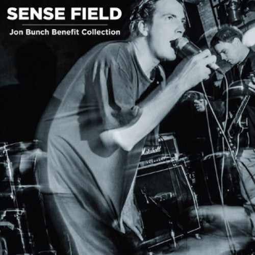"SFLD01-1 Sense Field ""Jon Bunch Benefit Collection"" 3xLP Album Artwork"