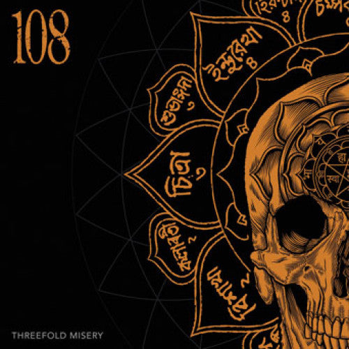 "SFU108-1 108 ""Threefold Misery"" LP Album Artwork"