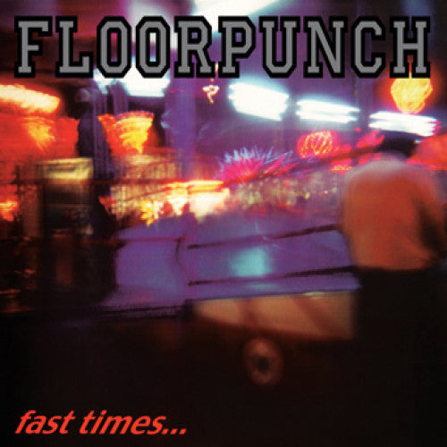 "SFU110-1 Floorpunch ""Fast Times At The Jersey Shore"" LP Album Artwork"