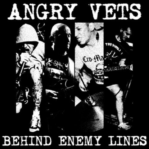 "SFU111-1 Angry Vets ""Behind Enemy Lines"" LP Album Artwork"