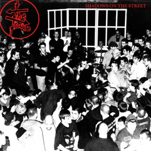 "SFU113-1 The Trouble ""Shadows On The Street"" LP Album Artwork"