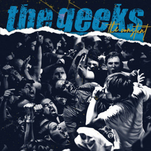 "SFU119-1 The Geeks ""The Constant"" 7"" Album Artwork"