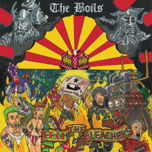 "SFU116-1 The Boils ""From The Bleachers"" LP Album Artwork"