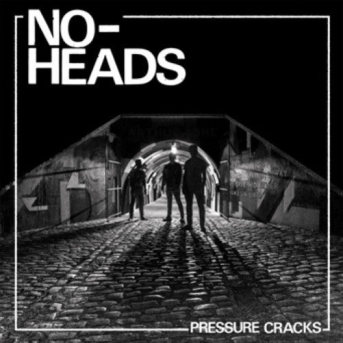 "SFU121-1 No-Heads ""Pressure Cracks"" LP Album Artwork"