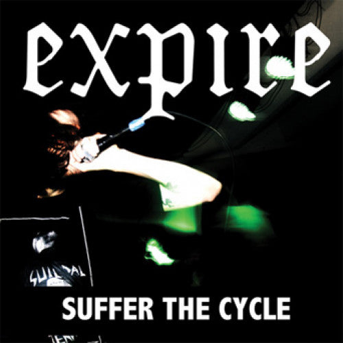 "SFU54-1 Expire ""Suffer The Cycle"" 7"" Album Artwork"